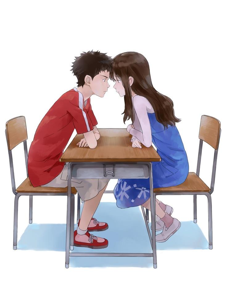 Me gusto esta pareja <3  Okami no Kodomo Ame to Yuki