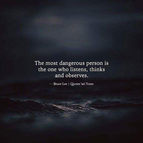 I am a silent observer.  You don't fool me.