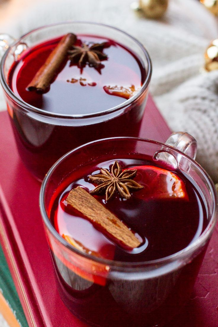 Mulled Wine Recipe Nordic Glogg Non Alcoholic Recipe In 2020 Mulled Wine Recipe Christmas Drinks Alcohol Recipes Recipes