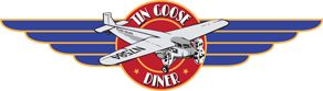 Tin Goose Diner - Port Clinton, Ohio. This diner is authentic, built by the Jerry O'Mahony Diner Company of Elizabeth, NJ, in the 1950's. It was originally operated as the Sunrise Diner in Jim Thorpe, PA.