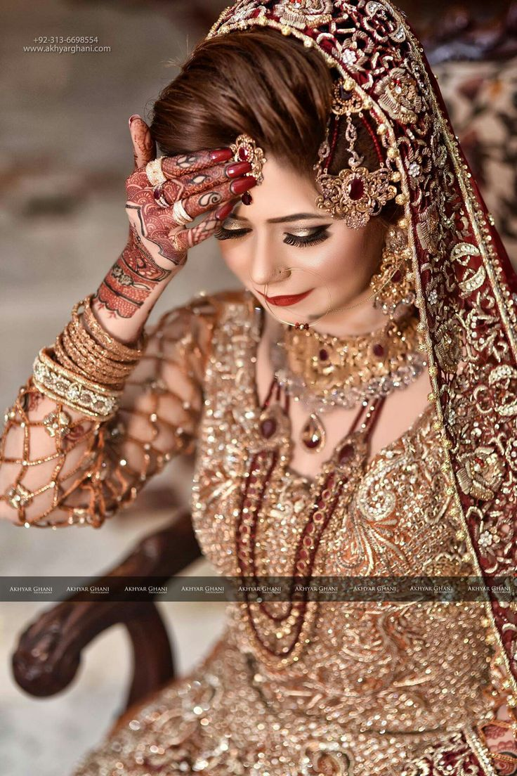 Bridal wear image by Hadia Zaighum on bridal jewelry for