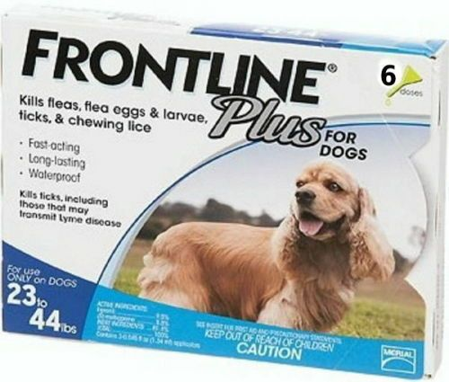 Flea and Tick Remedies 20749: Frontline Plus For Dogs 23-44 6 Doses Sealed Fresh Epa Registered -> BUY IT NOW ONLY: $46.95 on eBay!