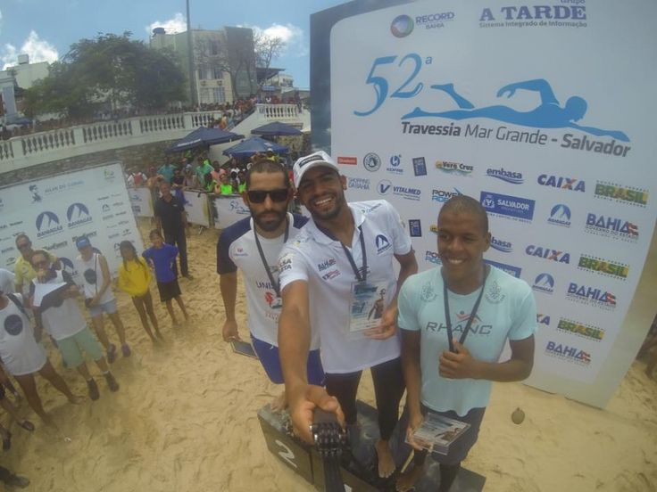 Allan do Carmo vence 52ª Travessia Mar Grande X Salvador 2016