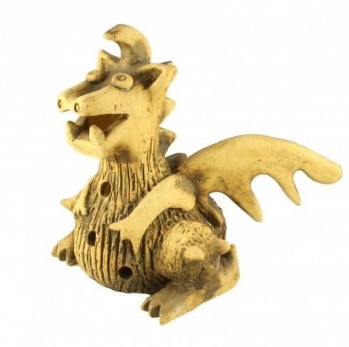 Svícen drak - keramika