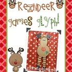 How cute is this reindeer?  Included is the template for the reindeer, glyph poster, an extra reindeer craft idea and pattern, 2 writing activities...