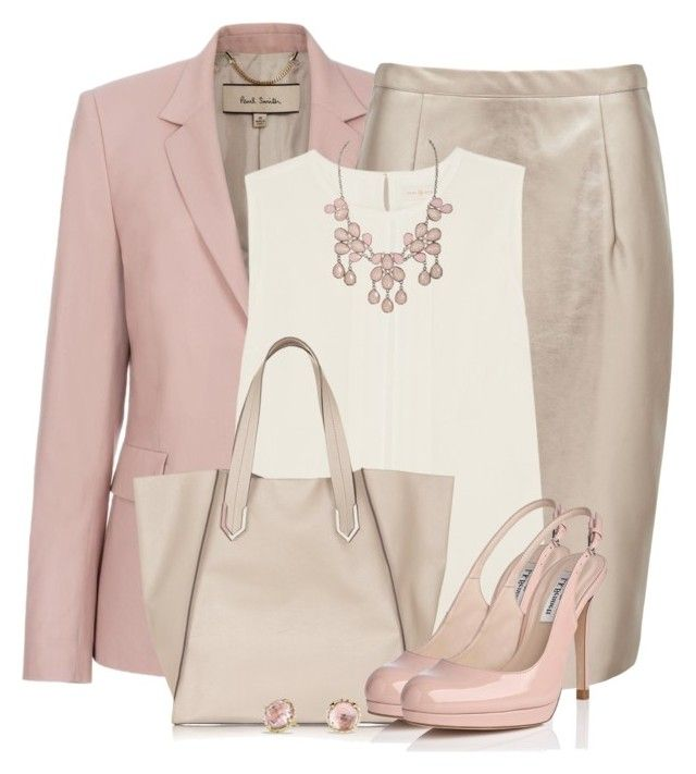 """""""Dusty Rose"""" by brendariley-1 ❤ liked on Polyvore featuring Paul Smith, Forever New, Tory Burch, Topshop, L.K.Bennett and David Yurman"""