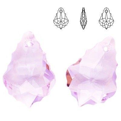 6090 Baroque 22mm Violet  Dimensions: 22,0 mm Colour: Violet 1 package = 1 piece