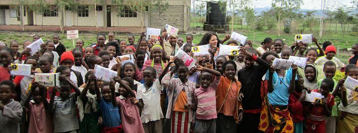 We collect & distribute underwear to help women & children in Africa