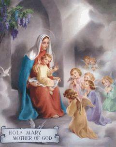 Puntadas musicales: Cantos para la Solemnidad de la Madre de Dios