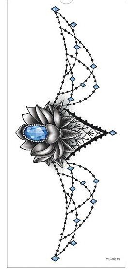 Type: Temporary Tattoo Size: 34.5X13cm Model Number: FR3413 Brand Name: Tattrendy Style: Body painting Staying quality: Waterproof Number of uses: Once Material: eco-friendly, nontoxic Place of origin