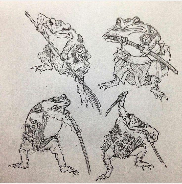 Warrior frog