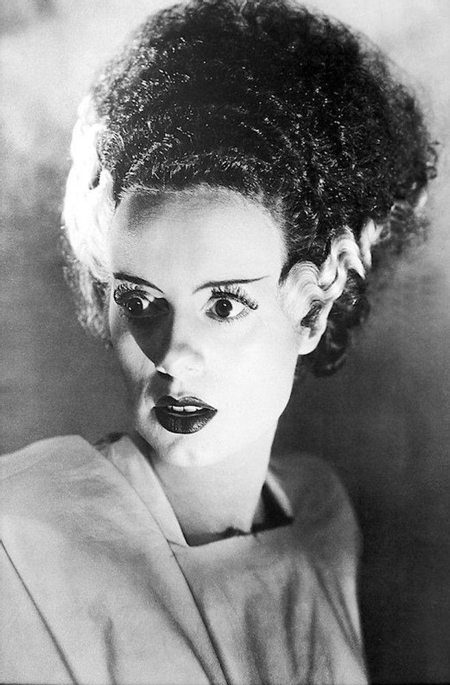 "Bride of Frankenstein Poster - Black & White Image - Measures: 24"" x 36"" - Comes Rolled"