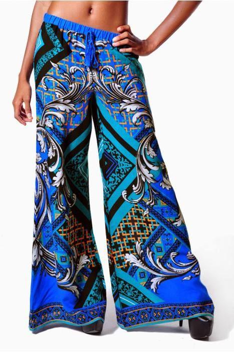 It S New Pattern Palazzo Pants Sew Sew Pinterest