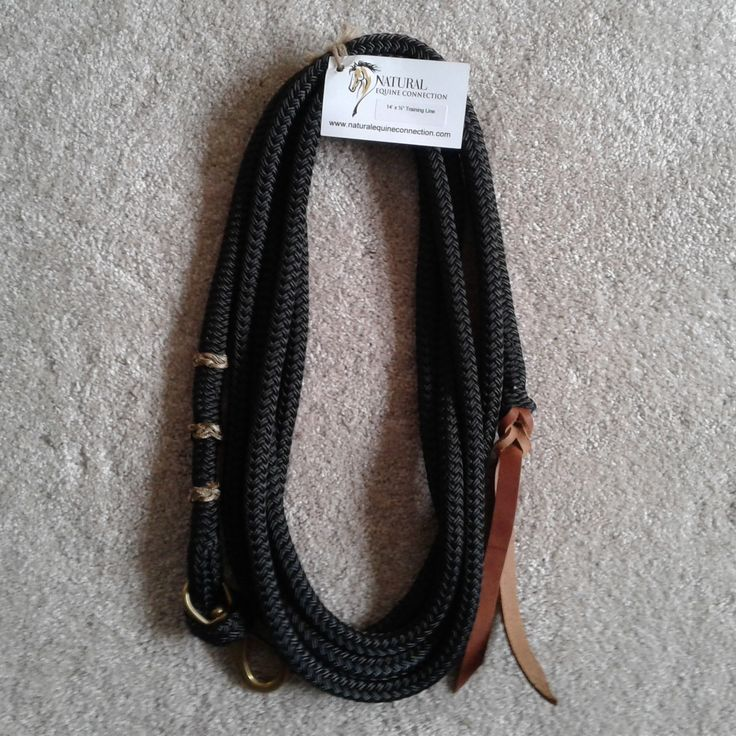 Custom Horse Training Leads / Lines by Natural Equine Connection