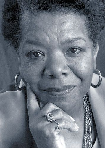 Maya Angelou- truly an inspiring, amazing woman!