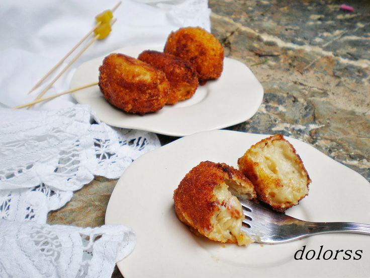 Blog de cuina de la dolorss: Delicias saladas:  Croquetas de pollo con tomates secos