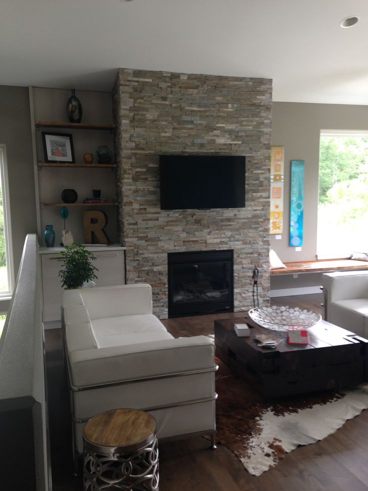Pinterest Living Rooms With Fireplace