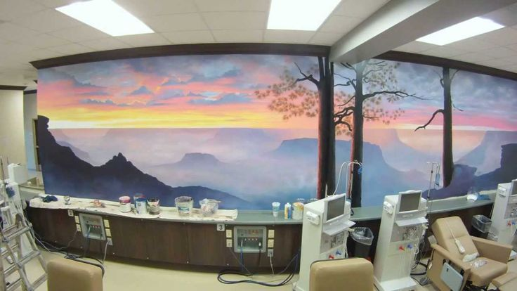 Grand Canyon Mural Time-lapse (This artist Joe, is amazing!)