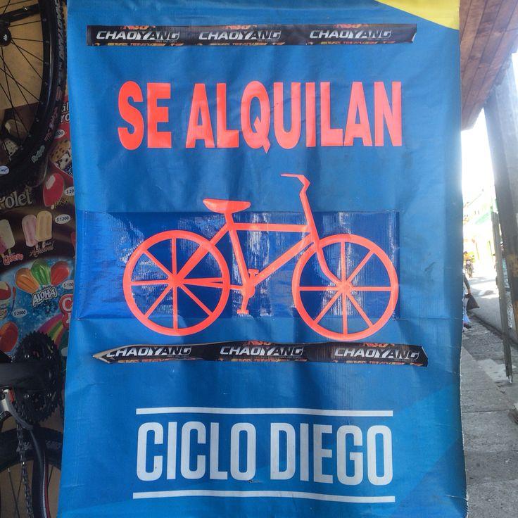 Si no tienes bicicleta aquí te la alquilamos.info  info 3104409967 Diego valencia  @cafemacanas @dulcesdeljardin @marielapasteleria