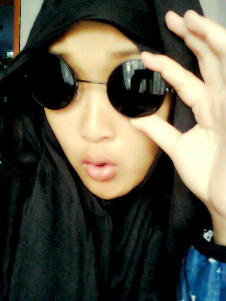 #eyeglasses #hijab