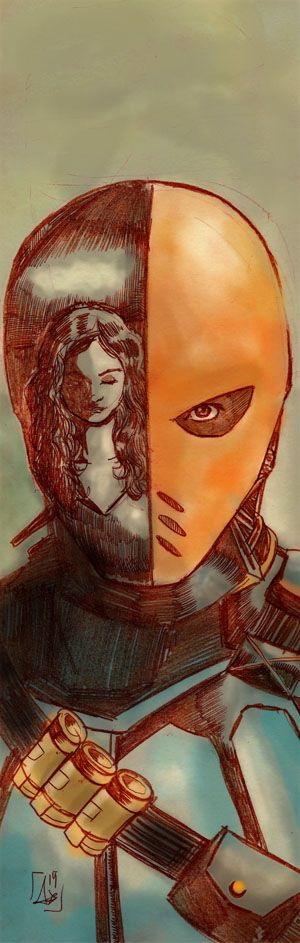 Deathstroke (Arrow version) by AdryLavi.deviantart.com on @DeviantArt
