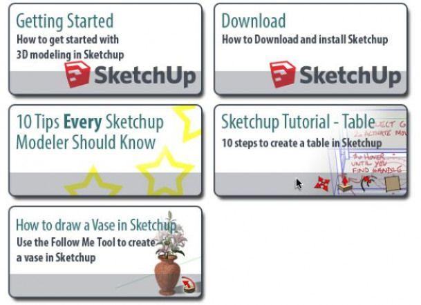 More Sketchup Tutorials Woodworking Woodworking Software