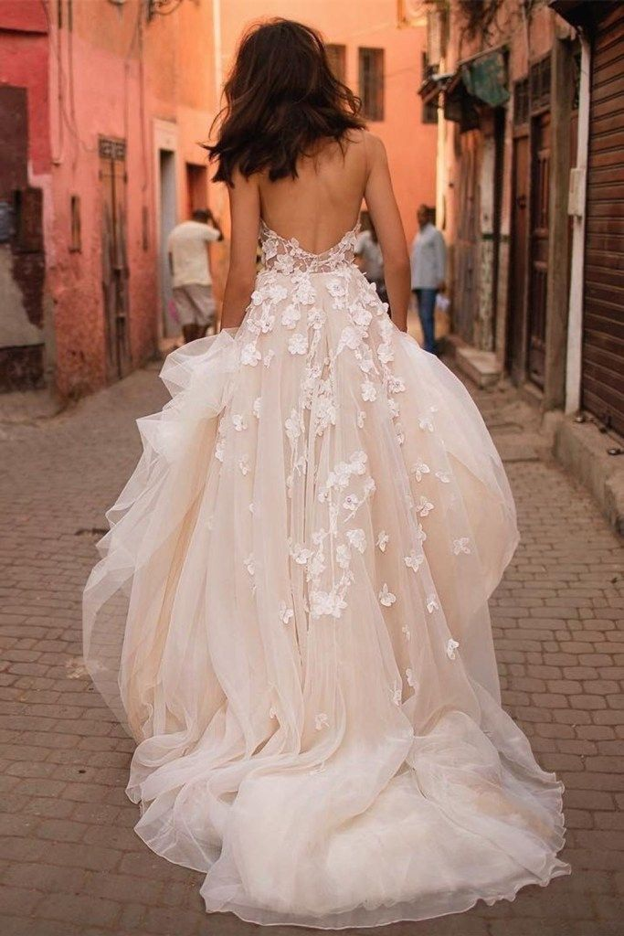 Elegant A Line Sweetheart Wedding Dresses Ideas 26