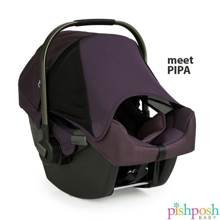 Meet PIPA, the infant car seat from @nuna_usa. Aside from having top ratings in safety, its hidden Dream Drape extendable canopy keeps sun and wind away from baby, and stays put with magnets. Pair with the Pepp stroller for the ultimate travel system! Available in 5 colors - most in stock!   http://www.pishposhbaby.com/nuna-pipa-infant-car-seat-w-base1.html