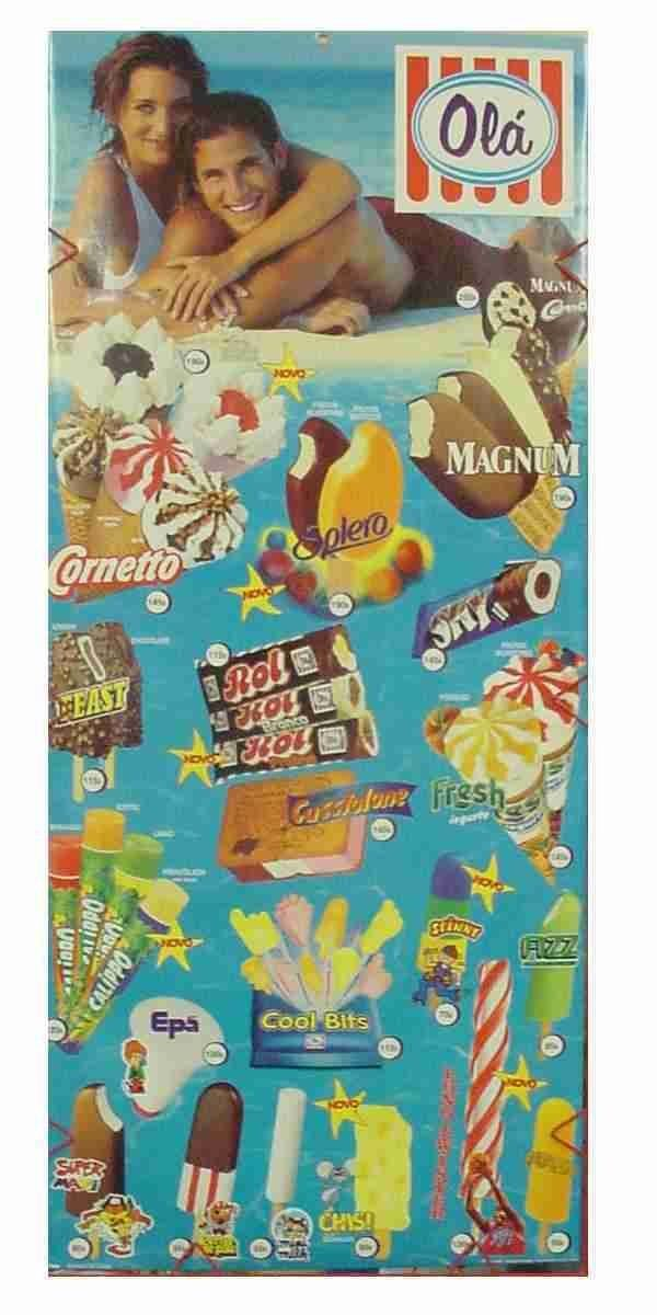 soort chips zakje met kleine ijsjes handjes en voetjes,van vroeger zoo lekker.. cool bits?