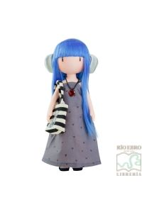 Muñeca Dear Alice Con Pelo Azul Y Vestido Largo  815f2cc73aa