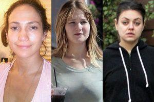 Las mujeres más sexys así lucen sin maquillaje #maquillaje #celebridades #celebrities #famosas