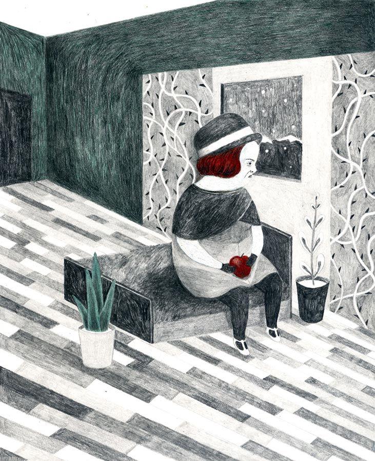 #Illustration calling meets ALESSANDRA DE CRISTOFARO