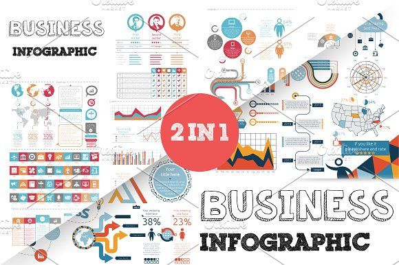 @newkoko2020 32% OFF Business Infographic Bundle by Infographic Paradise on @creativemarket #infographic #infographics #bundle #design #template #megabundle #bigbundle #presentation #vector #business #layout #creative #graph #information #visualization