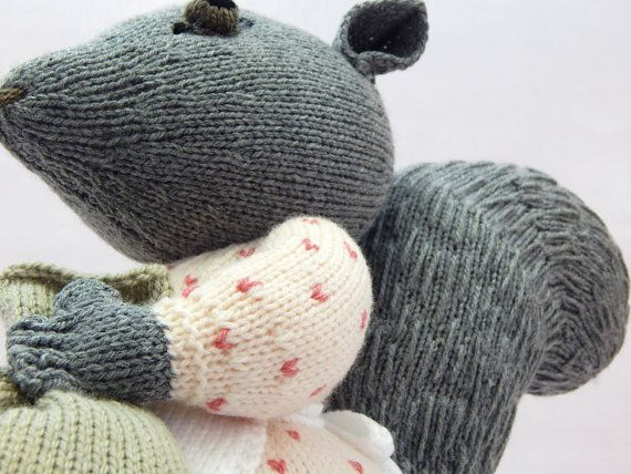 GOODY TIPTOES Beatrix Potter hand knitted by MadeWithAltitude