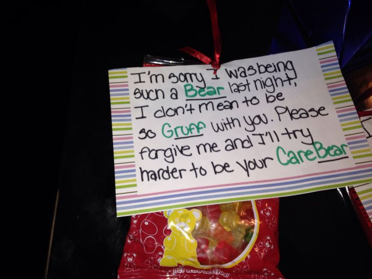 25 Unique Sorry Gifts Ideas On Pinterest College