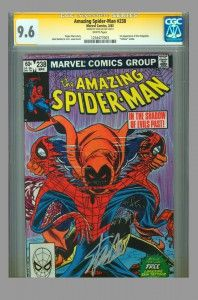 CGC SS 9.6 Amazing Spider-Man 1st appearance of Hobgoblin, signed by Stan Lee on www.vaultcollectibles.com #hobgoblin #spiderman #spider-man #stanlee #cgcss