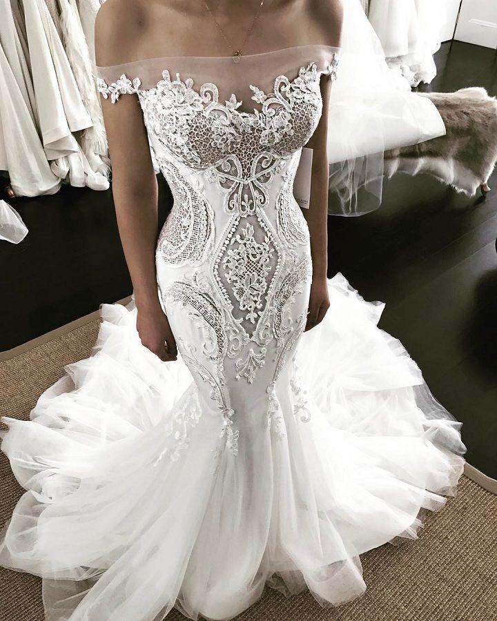 Dreamy & Romantic Wedding Dresses You'll Fall In Love