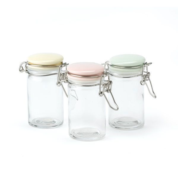 Betty Tiny Storage Jars. Set of 3, Only £5, Visit us instore at Inspired Cookware, Metro Centre, Red Mall