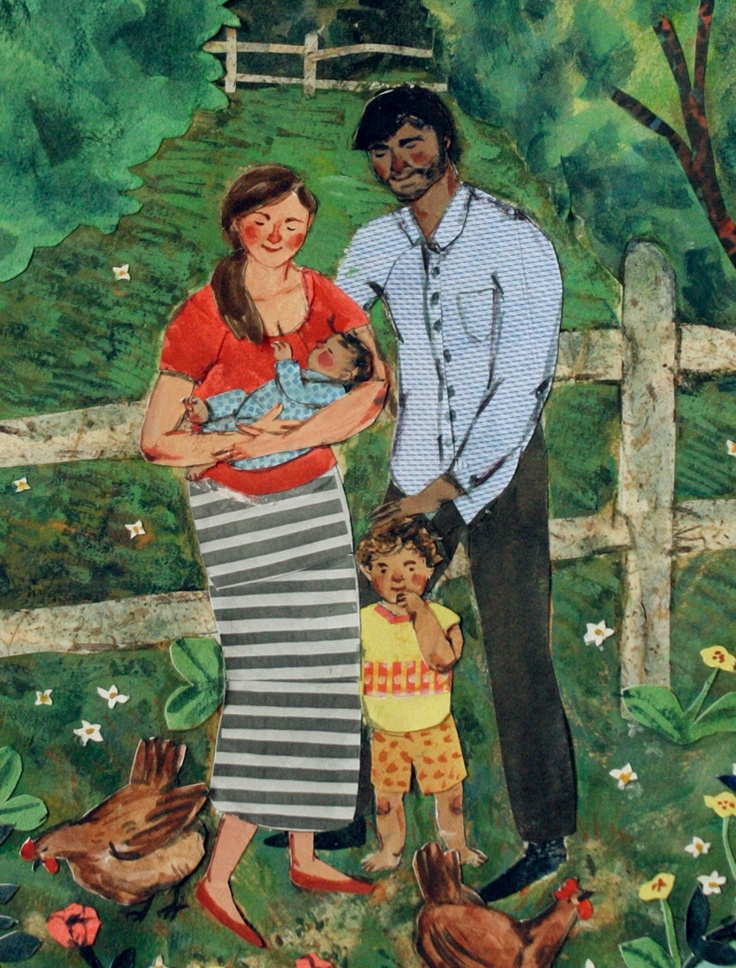 Christine Chitnis: Our Family    by phoebe wahl