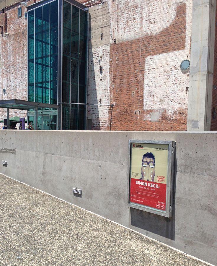 Simon Keck's #MFringe 2013 hit Nob Happy Sock heads to the Brisbane Powerhouse.