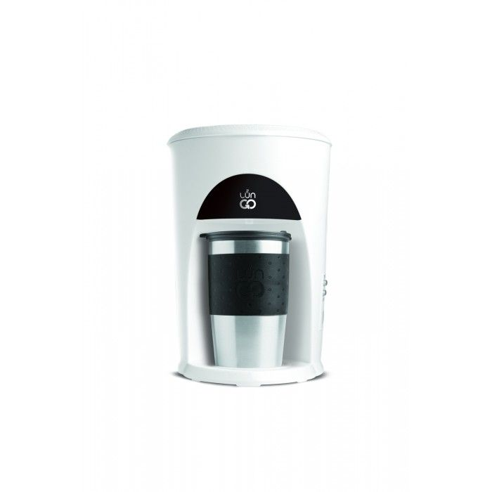 LunGo Kaffetrakter med to-go kopp 0,3L Sort