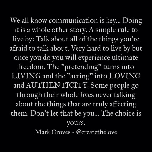 Communication the key to marriage success