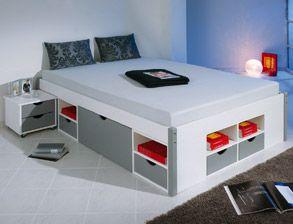 Einzelbett mit stauraum Die besten 25+ Bett mit bettkasten und stauraum Ideen auf ...