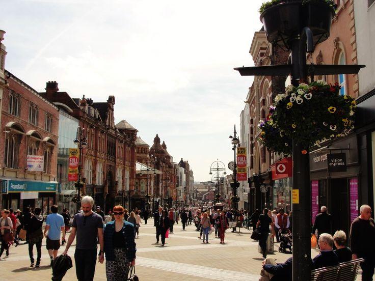 Briggate, Leeds, England | The College Tourist