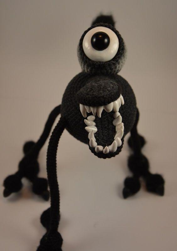 Crochet amigurumi Monster @justyhandmade