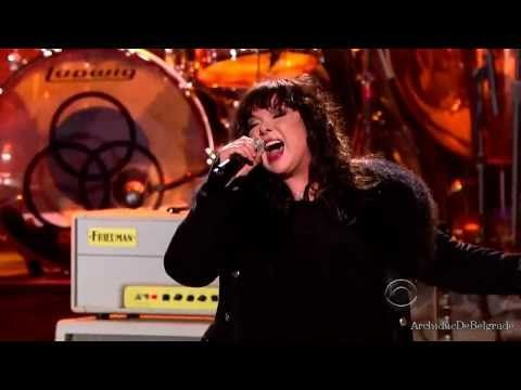 Robert Plant Breaks Down In Tears When Ann Wilson Covers 'Stairway To Heaven' Loved this performance! The only thing that marred it was the Obamas