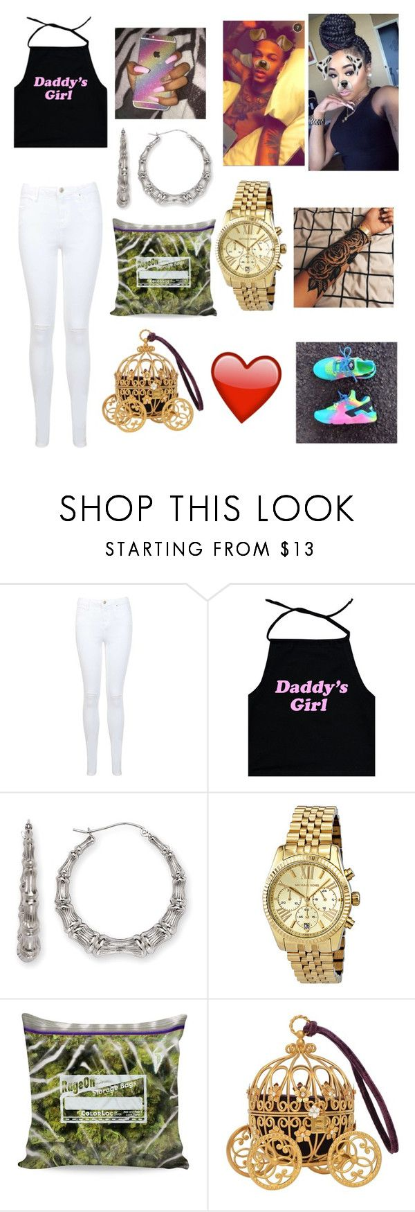 """august alsina girlfriend"" by jadynbell ❤ liked on Polyvore featuring Miss Selfridge, NIKE, Bamboo and Michael Kors"