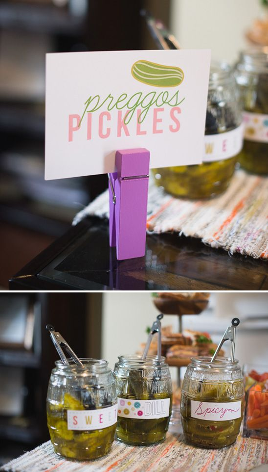The best part about this pickle station? You don't have to be pregnant to enjoy it!