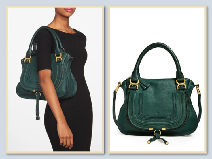 Emerald/forest green Chloe Marcie bag that any girl would want as ...