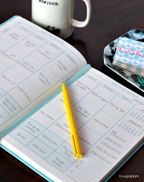 Inspire to stay organized this year with these simple tips to keep you on top of your to-do list.